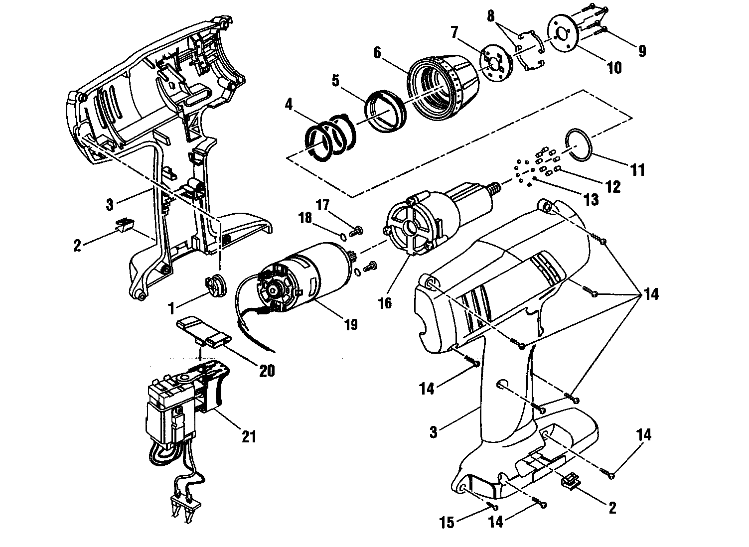 Electrical Diagram And Parts List For Craftsman Boatmotorparts Model