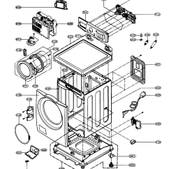 Ge Top Load Washer Wiring Diagram Whirlpool Duet Heating Element Lg Parts Model Wm2496hsm Sears Partsdirect