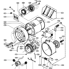 Lg Front Load Washer Parts Diagram 2007 Toyota Corolla Wiring Drum Tub Assy And List For Model Wm2496hsm