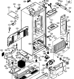 lg model lfx21960st 00 bottom mount refrigerator genuine parts lg refrigerator parts lg refrigerator diagrams [ 1351 x 1690 Pixel ]