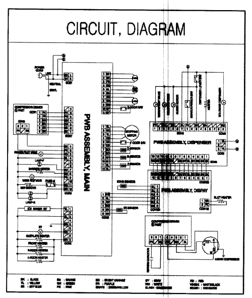 small resolution of refrigerator wiring diagram part