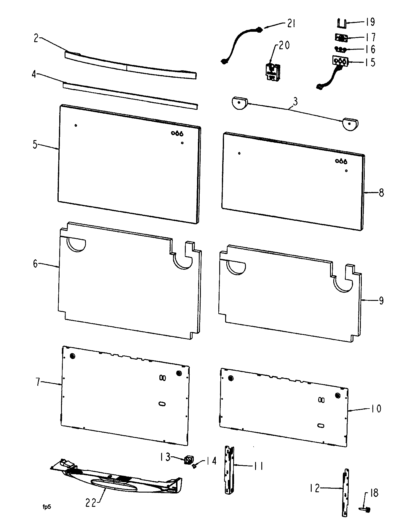 fisher paykel dishwasher parts diagram chevy wiring harness front panel 2 and list for model dd603ss
