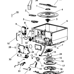 Fisher Paykel Washing Machine Parts Diagram Electric Baseboard Heat Wiring Fisherpaykel Dishwasher Tubs Components Model