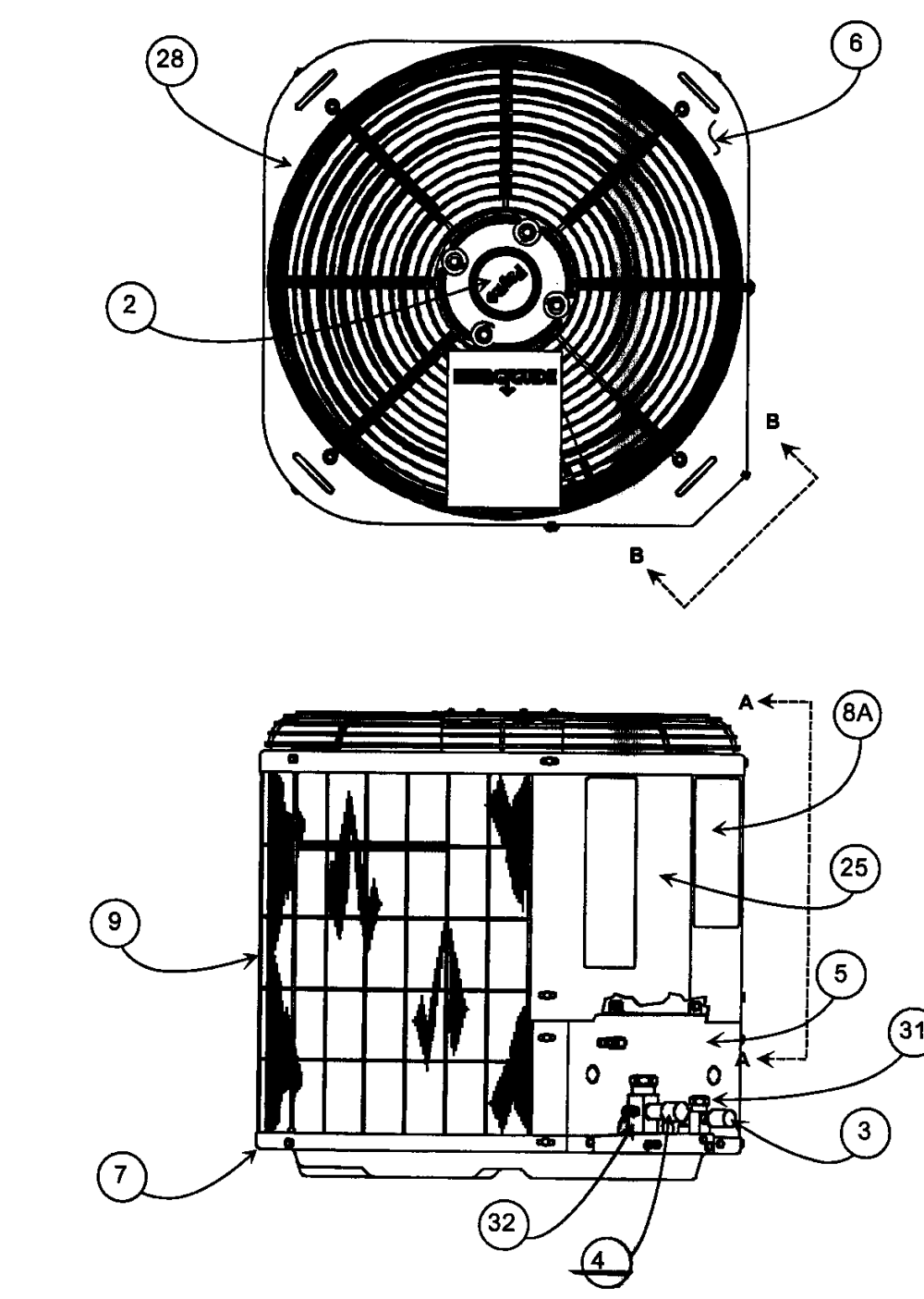 medium resolution of looking for payne model pa13nr03000gaaaa central air conditionerpayne pa13nr03000gaaaa cabinet parts 1 diagram