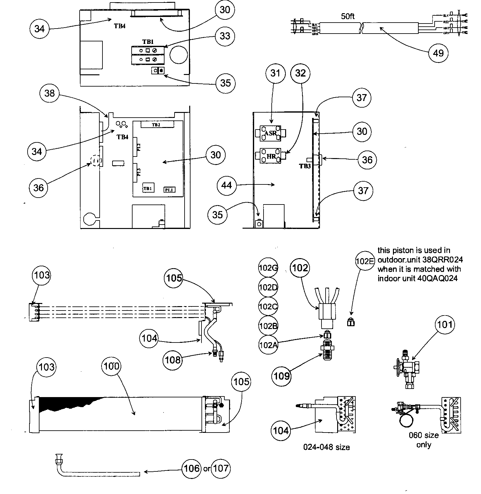 hight resolution of carrier 40qaq024300 coil control assy diagram