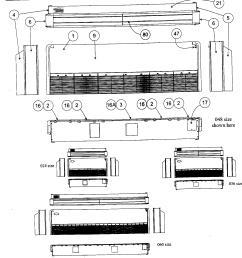 carrier 40qaq048300 front view diagram [ 1519 x 1585 Pixel ]