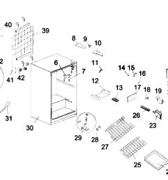 mini fridge diagram electrical wiring diagrams table lamp diagram kenmore model 18392779 under counter refrigerator genuine [ 2097 x 1403 Pixel ]