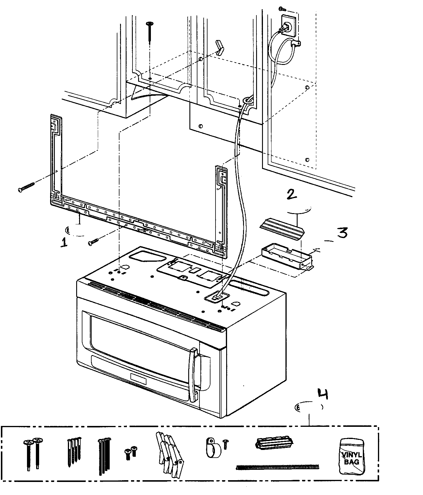INSTALLATION PARTS Diagram & Parts List for Model