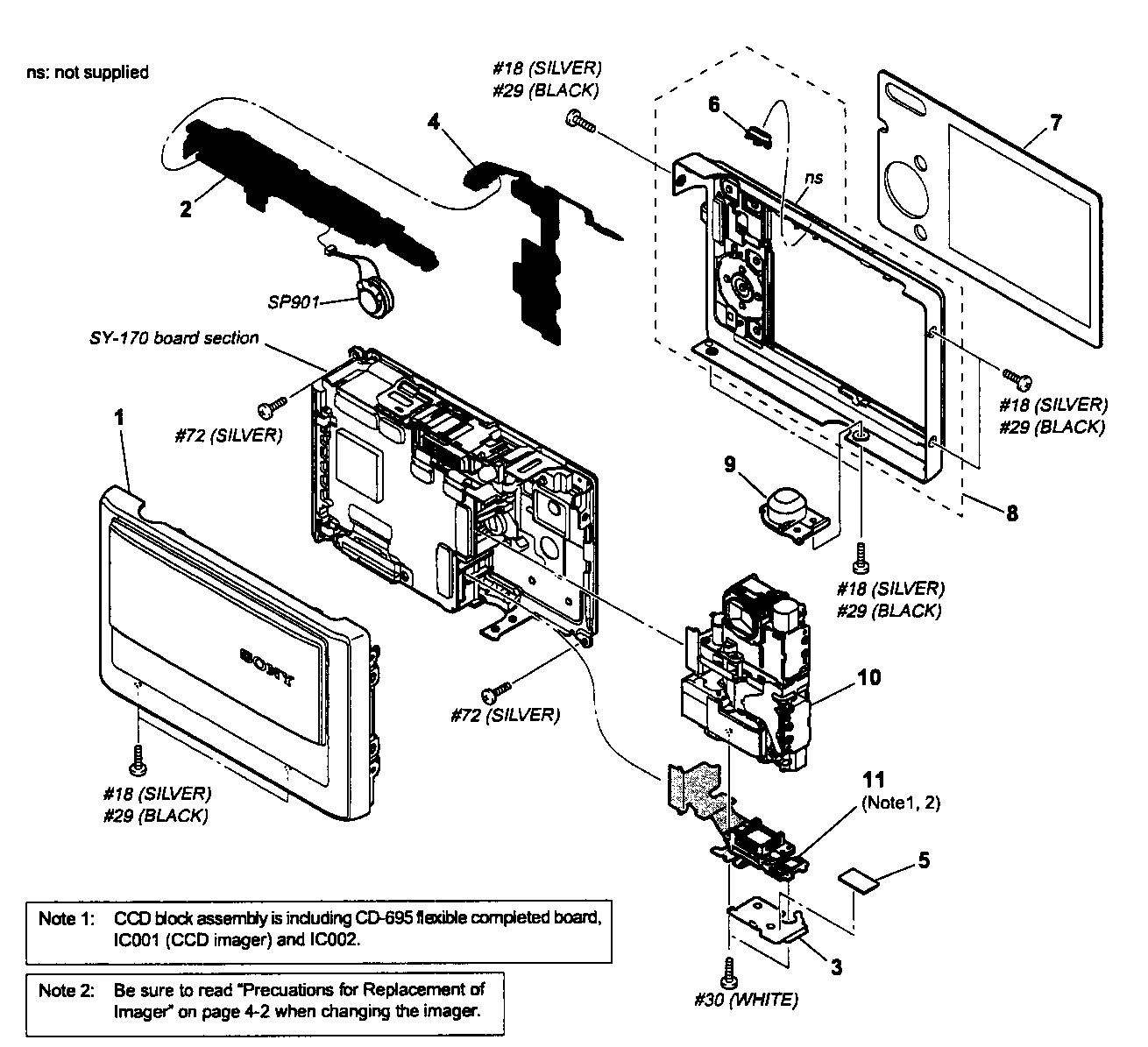 camera parts diagram wiring of window type air conditioner sony digital model dsct20 sears partsdirect