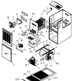 icp c8mpv075f14c1 cabinet parts diagram [ 1560 x 1909 Pixel ]