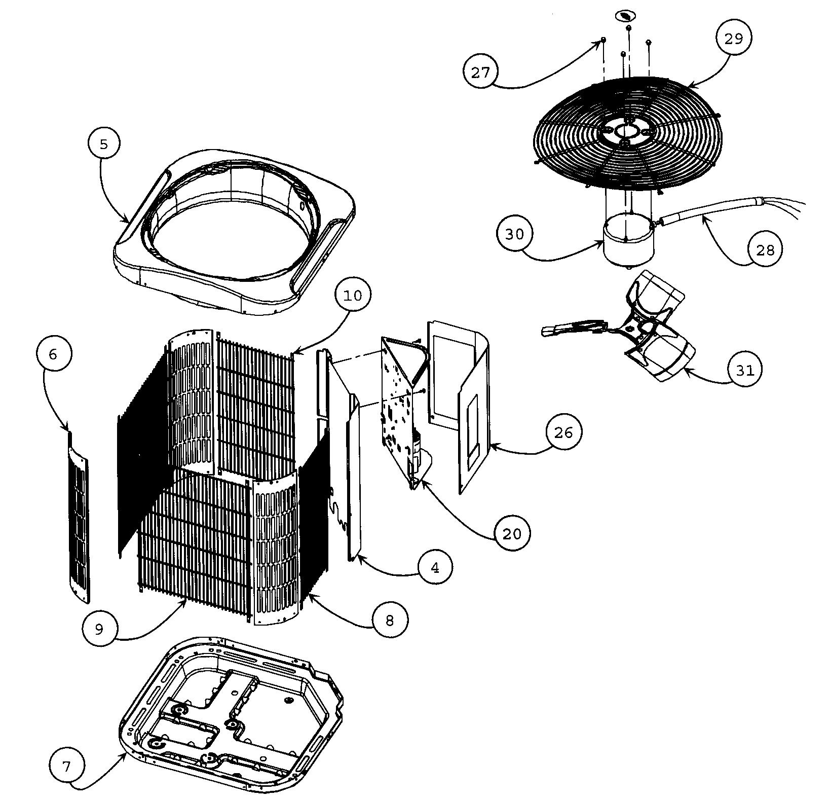 Home Air: Home Air Conditioner Parts List