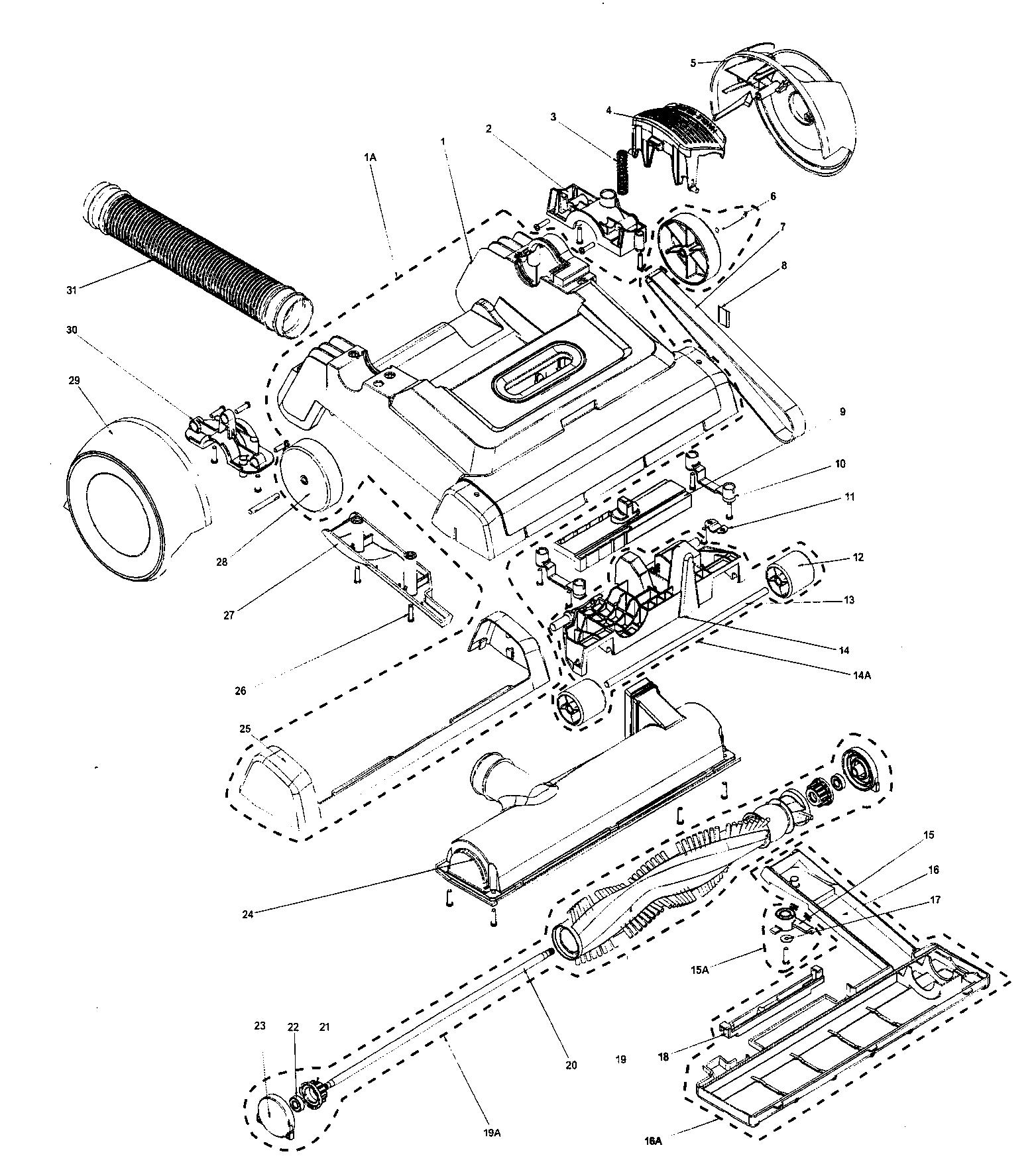 Vacuum Parts: Vacuum Parts Kenmore