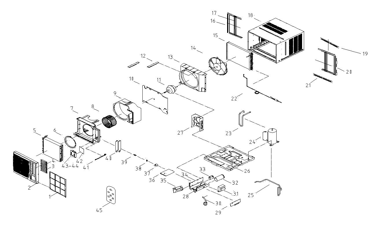Hampton Bay Air Conditioner Model Hblg1200r Wiring Diagram