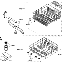 bosch she43m05uc 48 racks assy diagram [ 2028 x 1296 Pixel ]