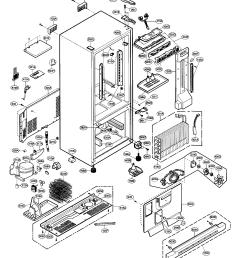 lg model lbn22515sb 00 bottom mount refrigerator genuine parts lg refrigerator diagram lfx25971sb lg refrigerator diagrams [ 1491 x 1694 Pixel ]