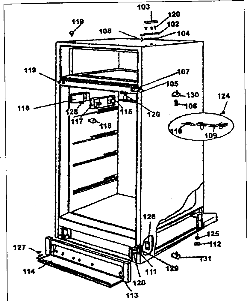 Refrigerators Parts: Danby Refrigerator Parts