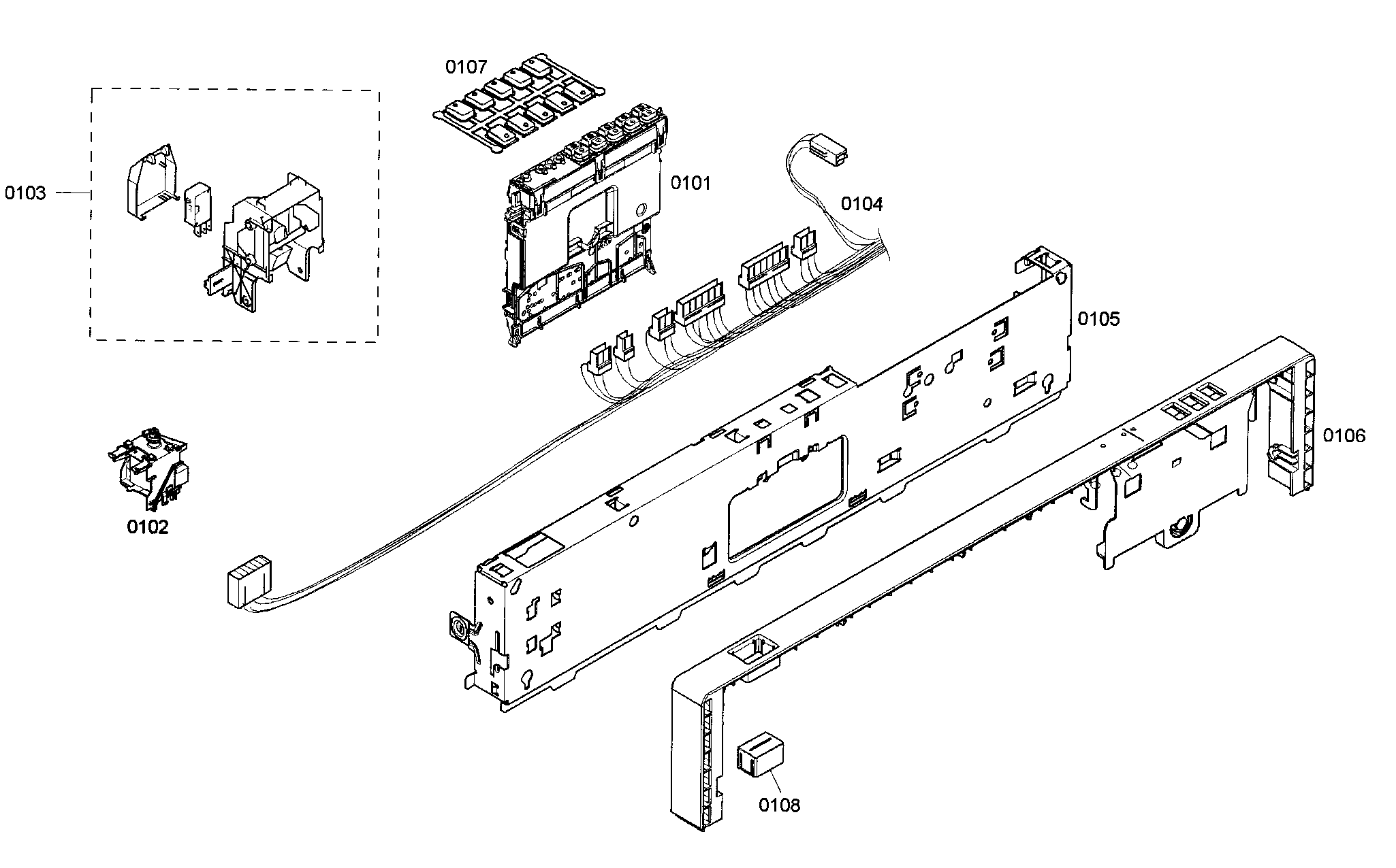 bosch exxcel dishwasher parts diagram passat 1 8t engine list