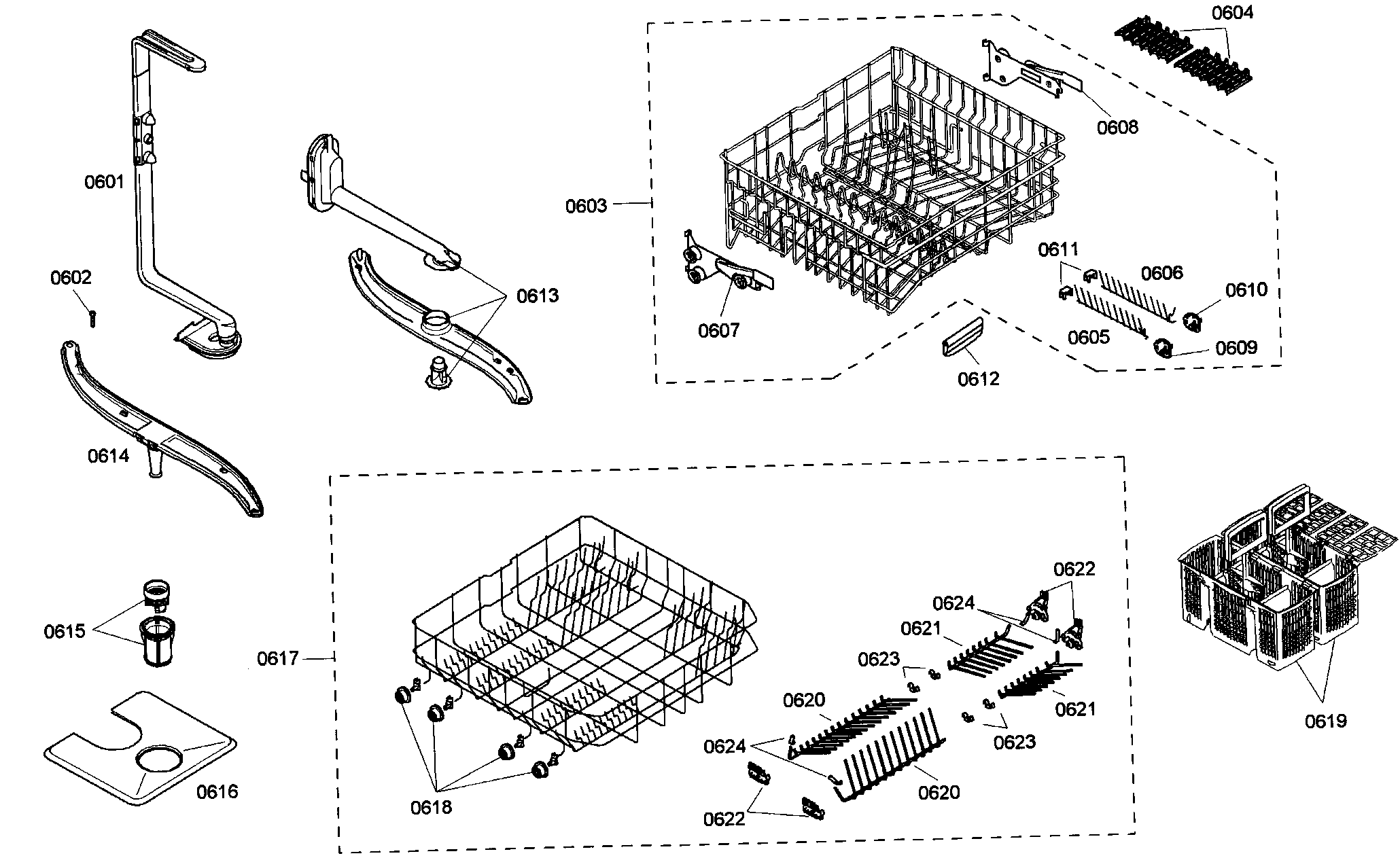 Bosch Dishwasher Parts: Bosch Dishwasher Parts 55