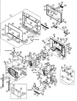 SHARP LCD TELEVISION Parts | Model LC42D64U | Sears PartsDirect