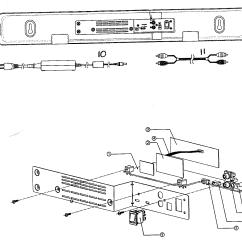 Parts Of A Speaker Diagram 93 Ford Ranger Fuse Panel Boston Acoustics System Speakers Back