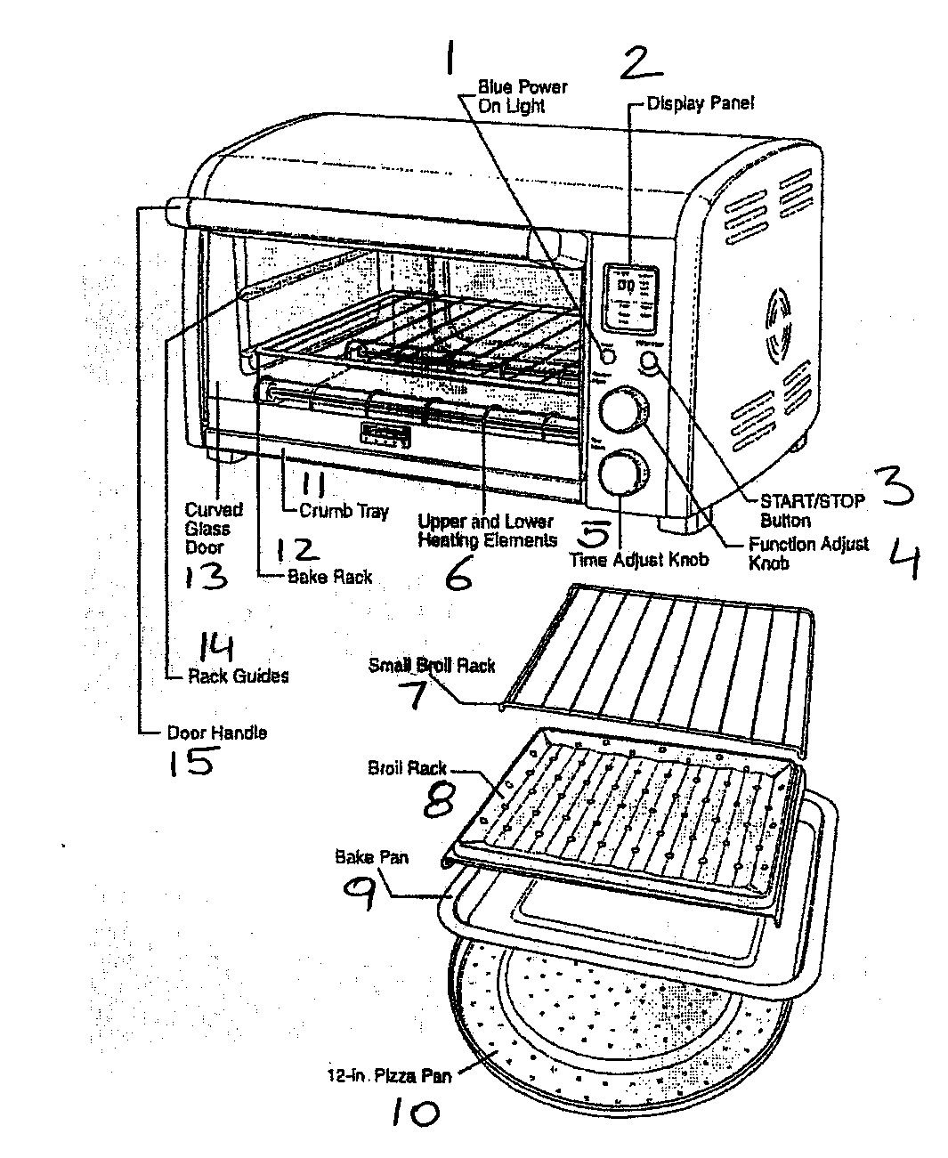 Oven Toaster: Toaster Oven Parts