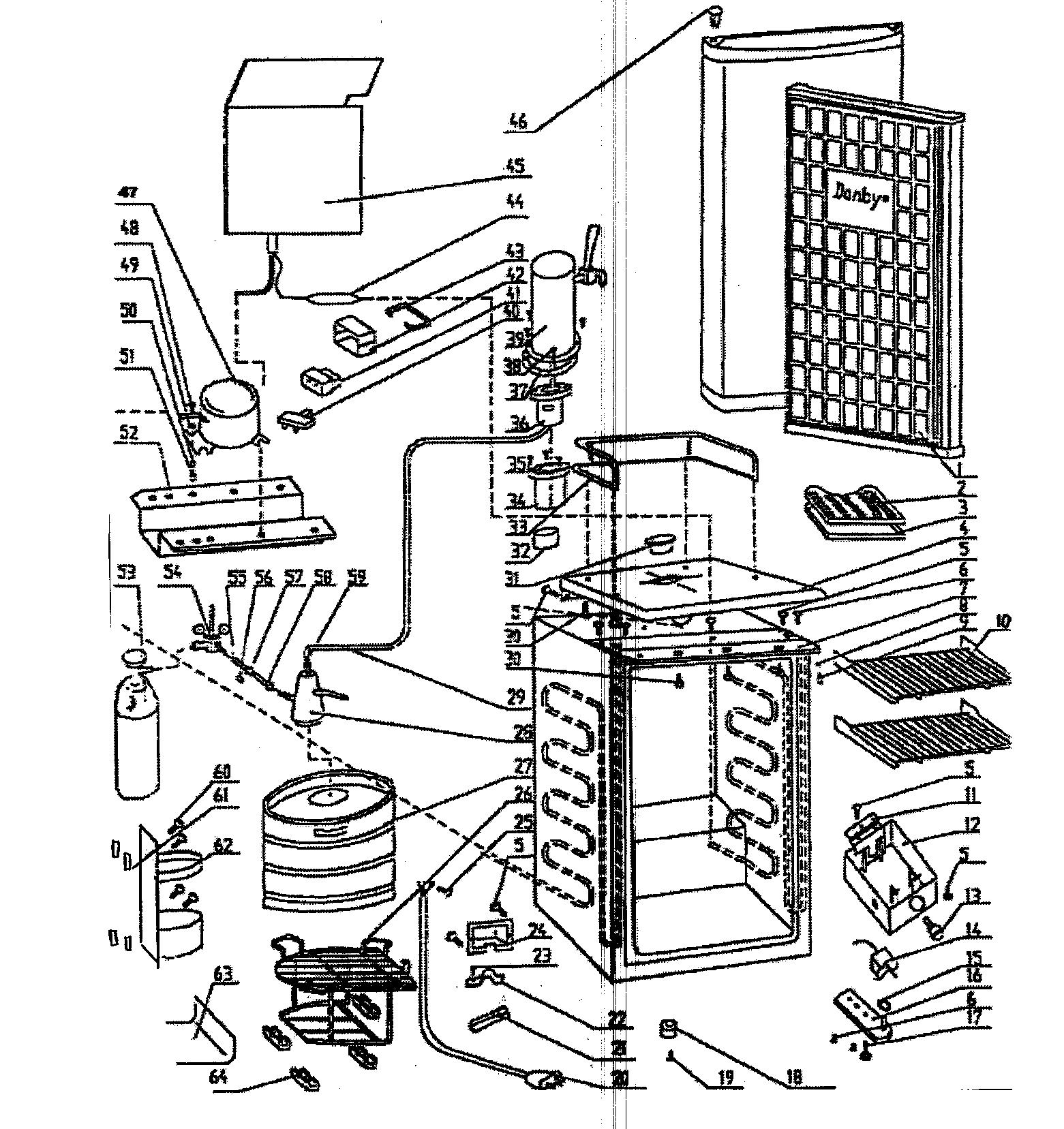 Kegerator parts diagram on walk in cooler wiring diagram defrost timer 303030