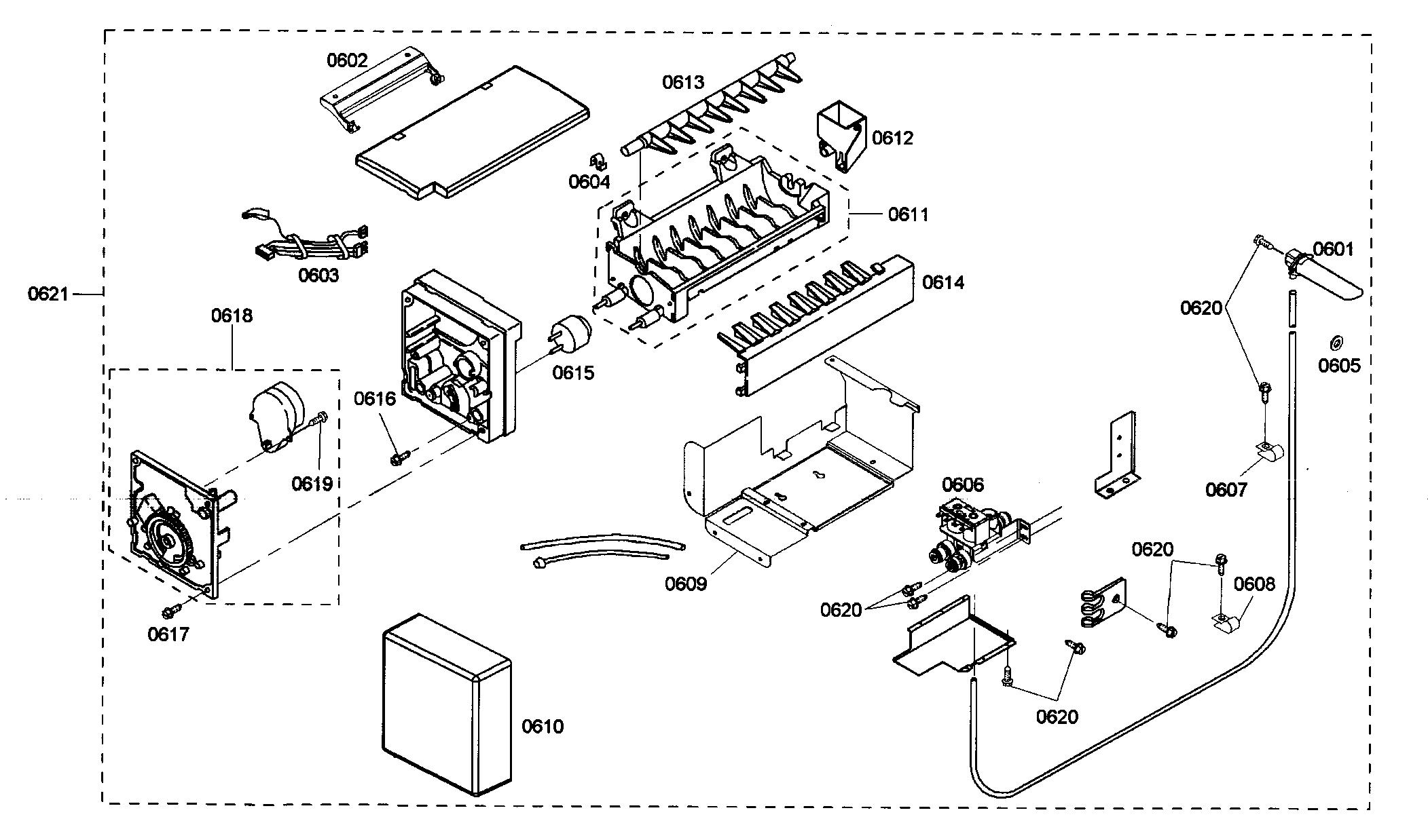 Refrigerator Parts: Refrigerator Ice Maker Parts