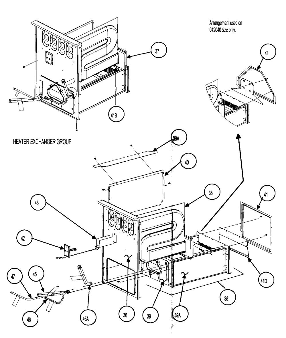 medium resolution of carrier 58mvp040f15114 heat exchanger diagram