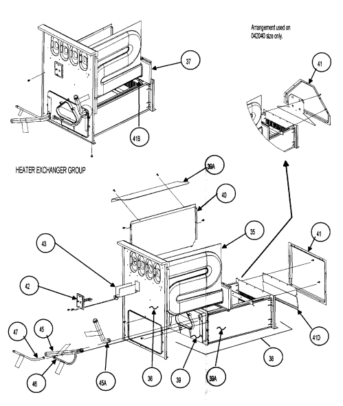 small resolution of carrier 58mvp040f15114 heat exchanger diagram