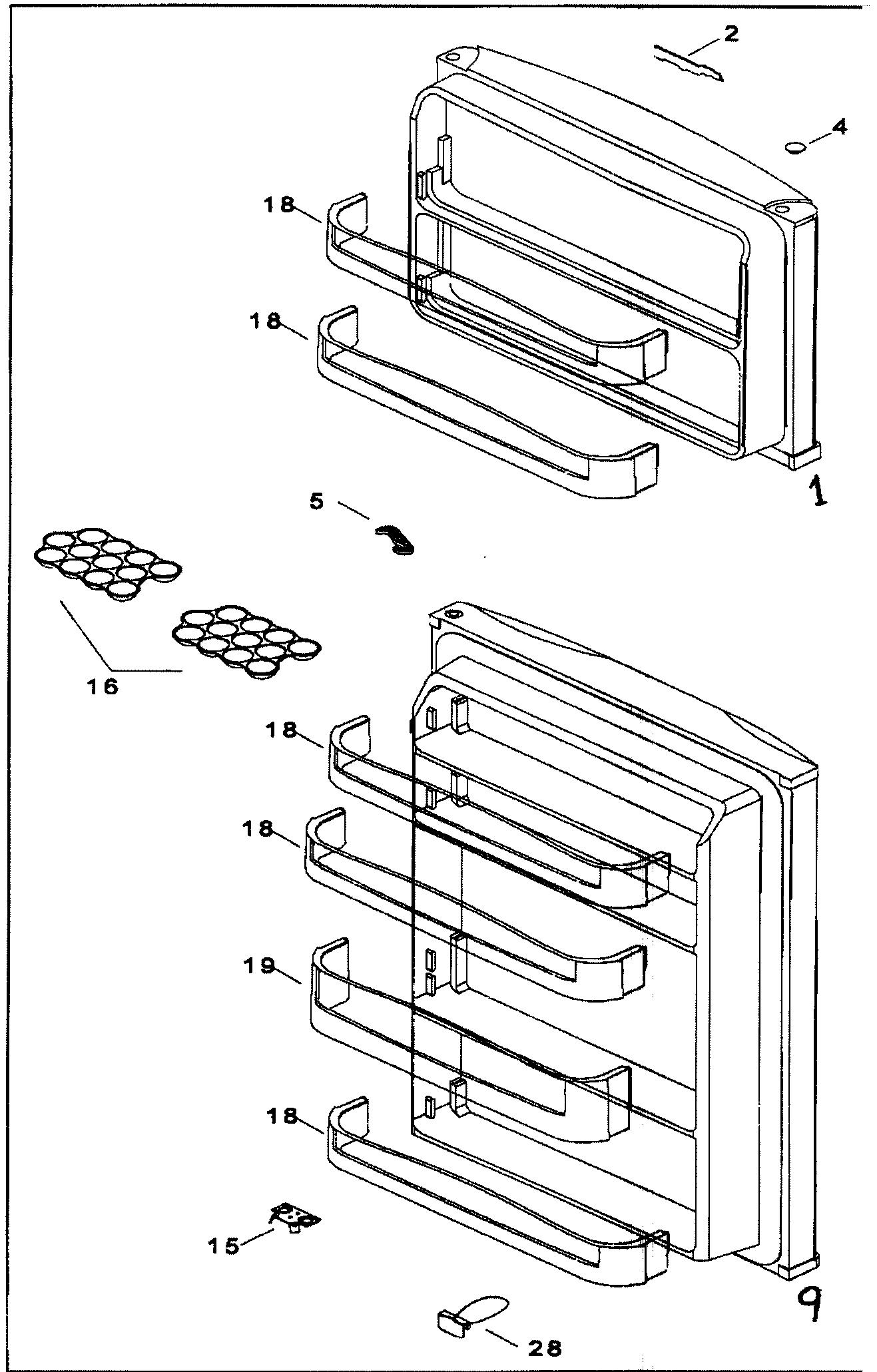 Refrigerator Parts: Refrigerator Parts Name
