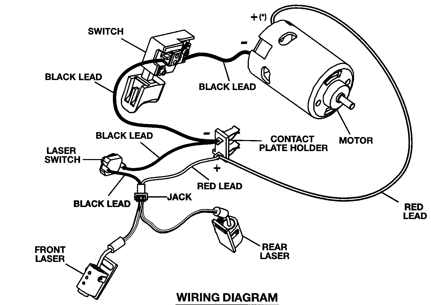 band saw wiring diagram
