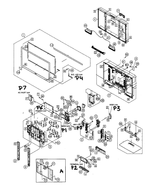SHARP LCD TELEVISION Parts | Model LC46SB54U | Sears