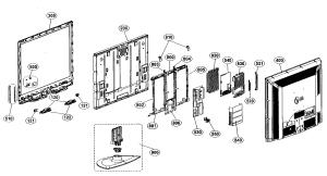 LG LCD TELEVISION Parts | Model 47lg70 | Sears PartsDirect