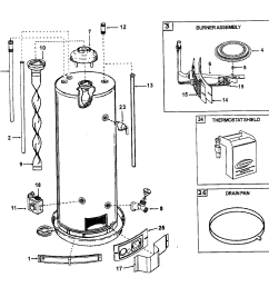 ao smith model gcv50 water heater gas genuine parts ao smith water heater parts water heater burner diagram [ 1512 x 1388 Pixel ]