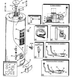 looking for ao smith model gpcr50100 gas water heater repair gas water heater igniter parts gas water heater parts diagram [ 1474 x 1615 Pixel ]