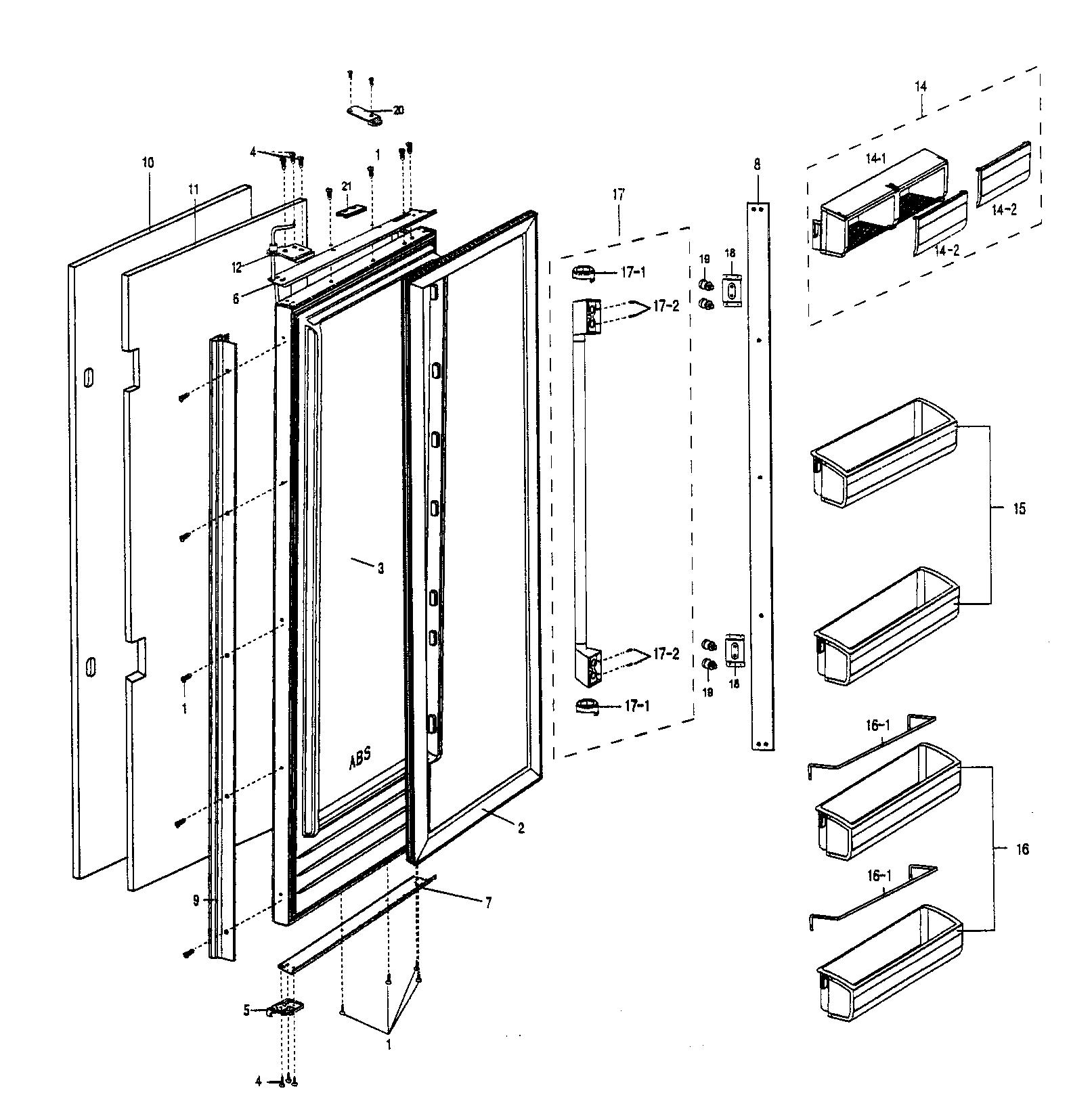 ge cafe refrigerator wiring diagram led strobe light circuit gfss6kkycss mod fridge library