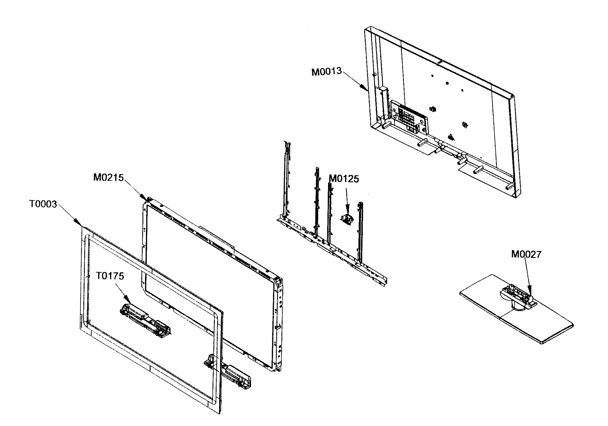 hight resolution of samsung ln46a630m1fxza lcd tv diagram