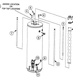hot water heater part diagram piece [ 2104 x 1780 Pixel ]
