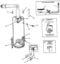 hot water heater part diagram piece [ 2174 x 2080 Pixel ]