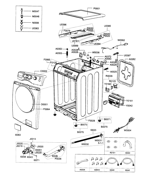 small resolution of wiring diagram for samsung washer electrical wiring diagrams frigidaire washer parts diagram samsung washer diagram