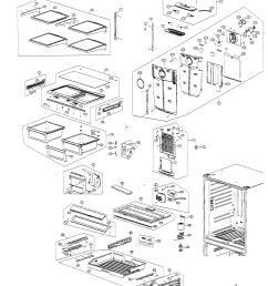 samsung model rf266abpn xaa bottom mount refrigerator genuine parts rh searspartsdirect com samsung refrigerator parts diagram [ 2436 x 2930 Pixel ]