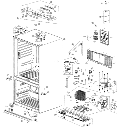 samsung model rf266abpn xaa bottom mount refrigerator genuine parts samsung dryer parts diagram samsung refrigerator diagram [ 2513 x 2754 Pixel ]