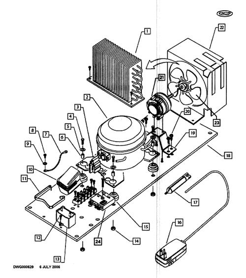 small resolution of dcs ur624 70652 compressor diagram