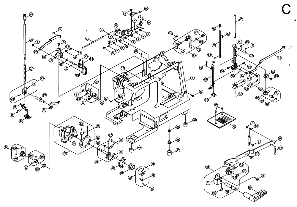medium resolution of sewing pedal wiring diagram kenmore