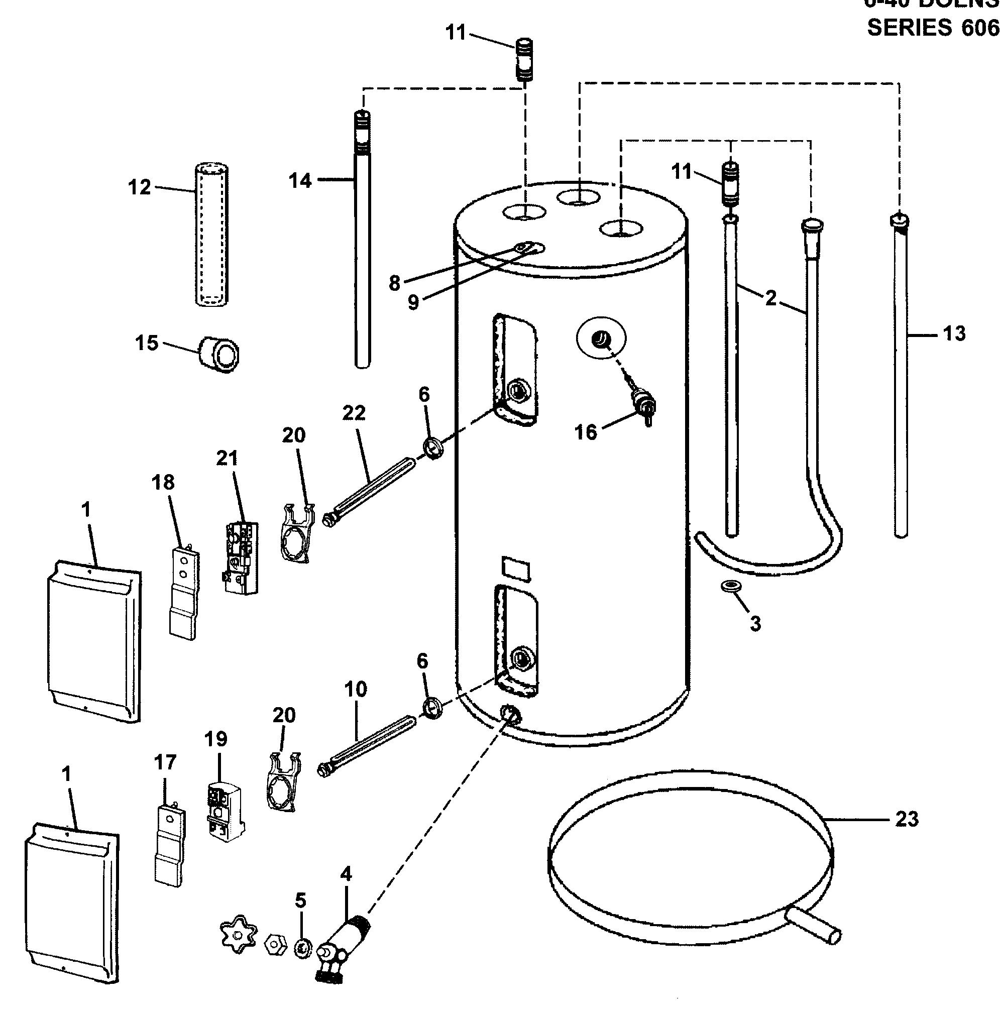 wiring 240v water heater element [ 1991 x 2019 Pixel ]