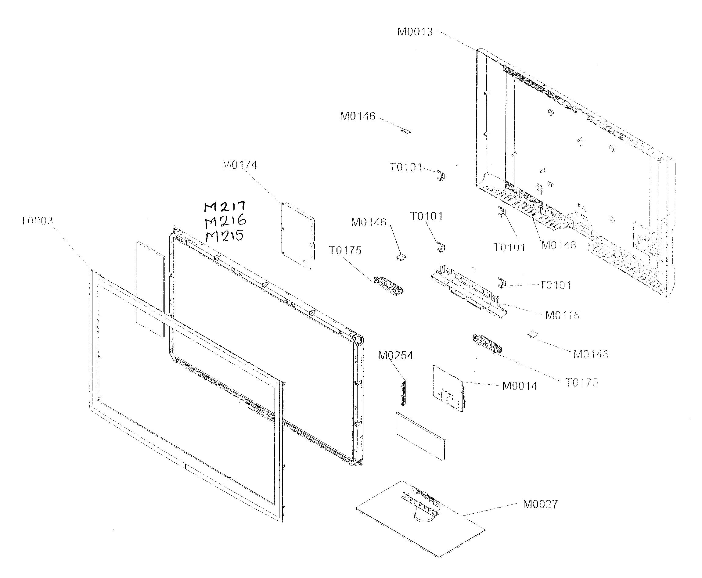 samsung schematic diagram for model ln t4061f