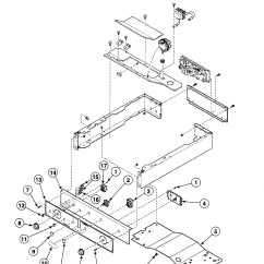 Speed Queen Dryer Wiring Diagram Listening Skills Controls 2 And Parts List For Model Ltsa7awn