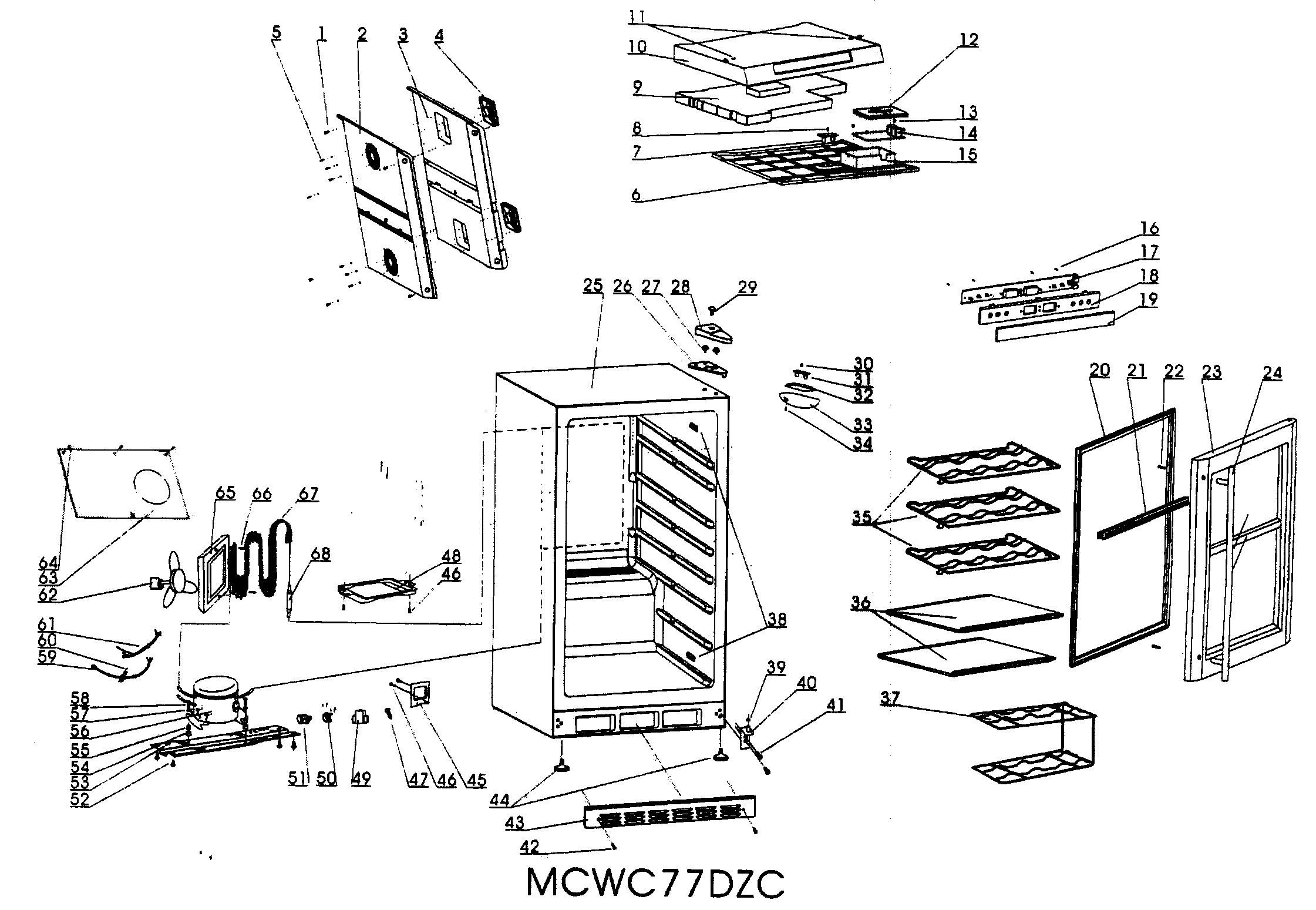 Vissani Beverage Cooler Manual Mcbc58dst Manual