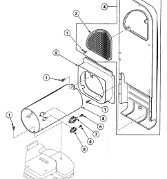 wiring diagram for speed queen dryer [ 2016 x 2442 Pixel ]