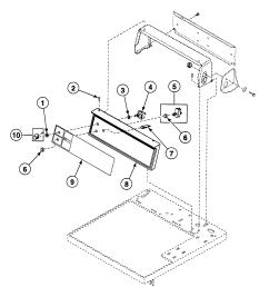 wiring diagram for speed queen dryer [ 1886 x 1903 Pixel ]